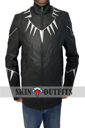 BLACK PANTHER MOVIE LEATHER JACKET