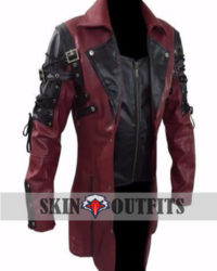 Matrix Trench Coat Steampunk Gothic