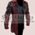 Red Gothic Matrix Steampunk Coat