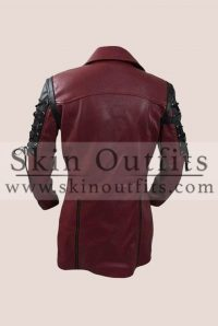 Steampunk Red Gothic Coat