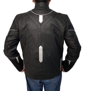 BLACK PANTHER MOVIE LEATHER JACKET...