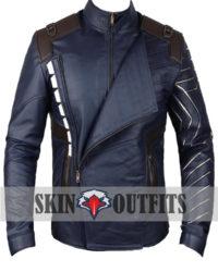 Avengers Bucky Barnes Infinity War Jacket