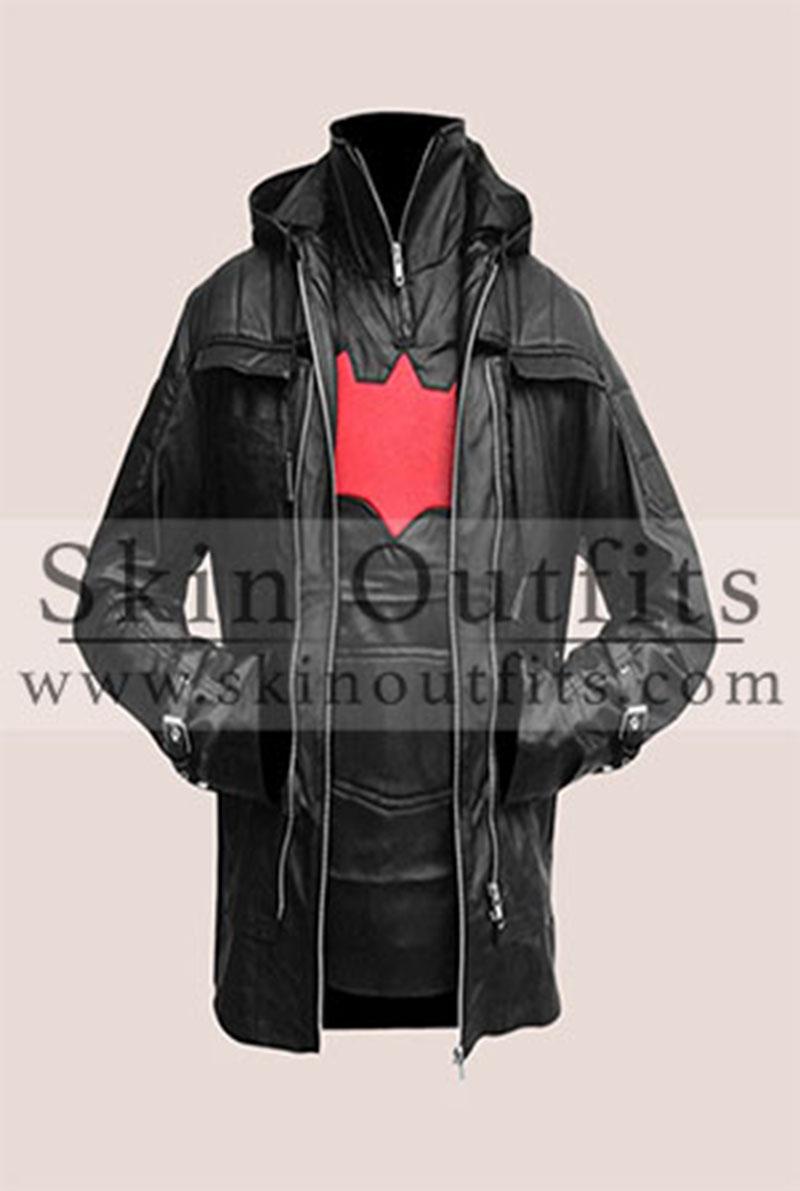 Black Batman Arkham Jacket