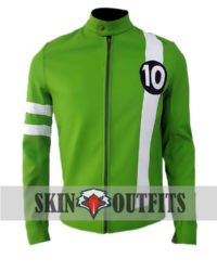 Ben 10 Alien Swarm Green Jacket