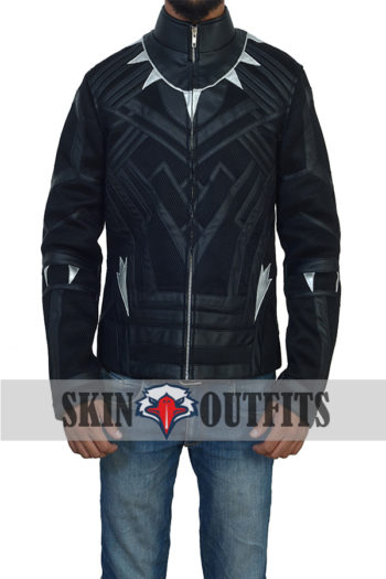 Black Panther New Stylish Costume Jacket