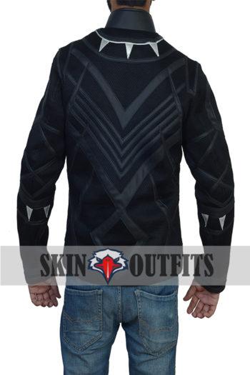 Black Panther New Stylish Costume Jacket.