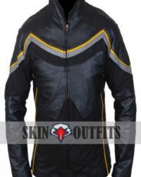 John Hancock Superhero Leather Jacket