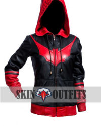 Katherine Kane Batwoman Slim Fit Leather Jacket