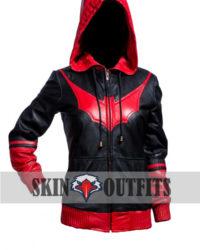 Katherine Kane Batwoman Slim Fit Leather Jacket