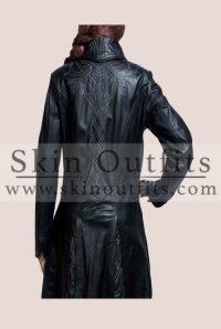 Underworld Awakening Selene Leather Coat1