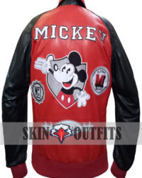 Mickey Mouse Michael Jackson Varsity Jacket