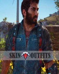 Rico Rodriguez leather Just Cause 3 Jacket