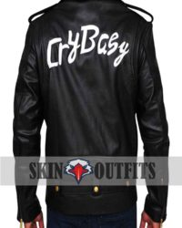 cry baby johnny depp leather jacket