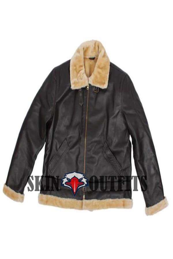 7e2278069 tom hardy dunkirk farrier shearling bomber leather jacket