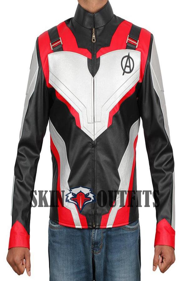 ff95dcaa1 Captain America Avengers Endgame Quantum Leather Jacket