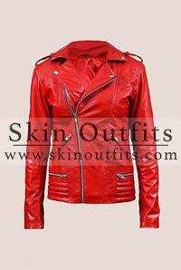 Red Southside Serpent Cheryl Blossom Jacket
